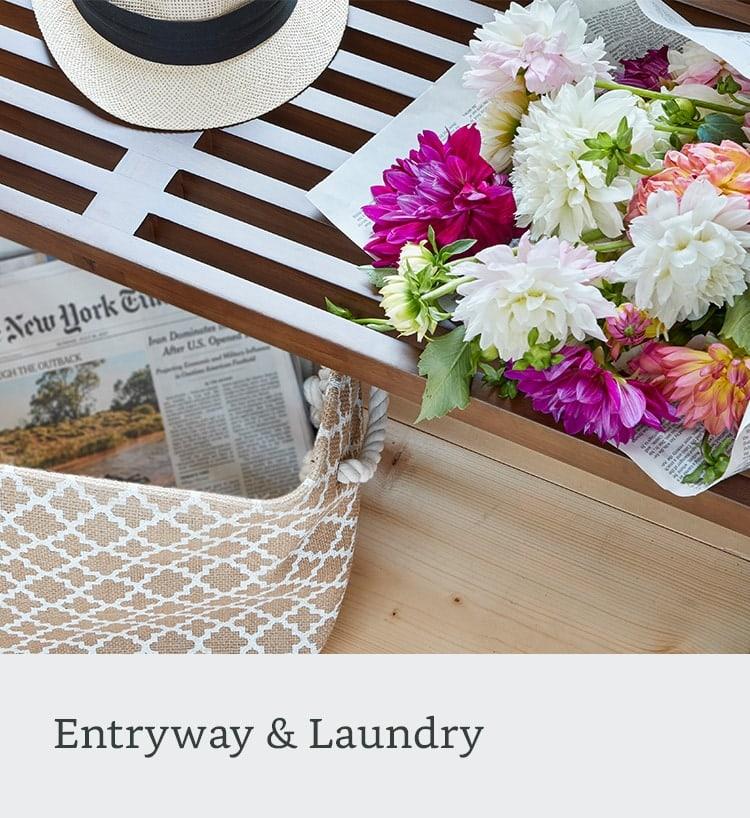 entryway laundry