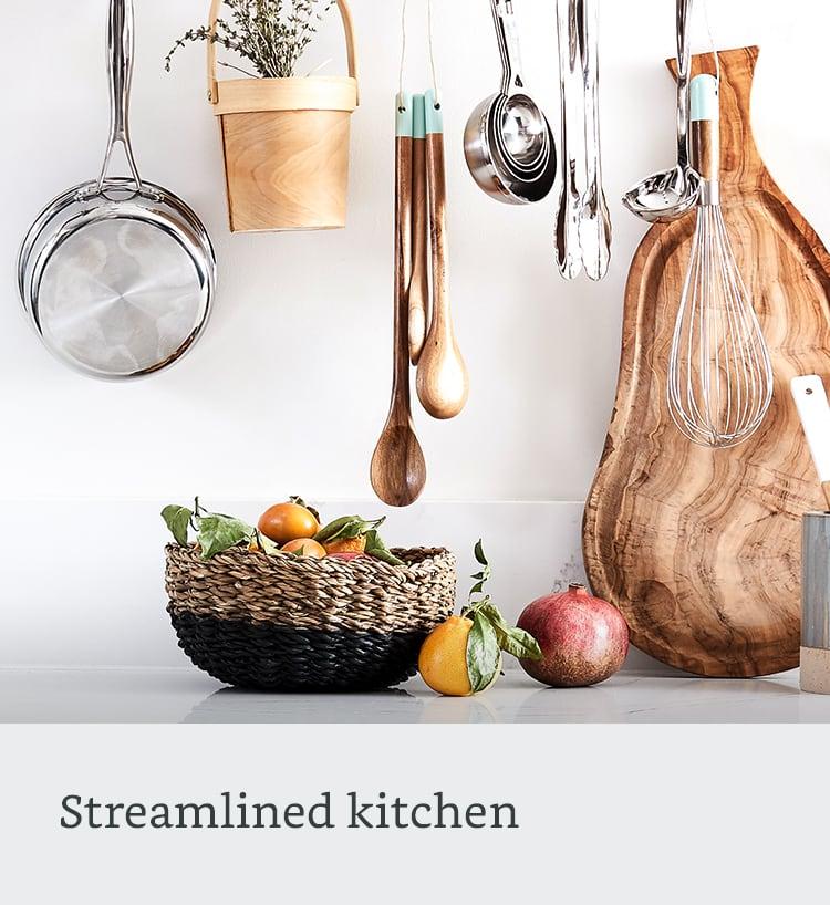 Streamlined kitchen