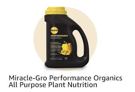 Miracle-Gro Performance Organics All Purpose Plant Nutrition Granules