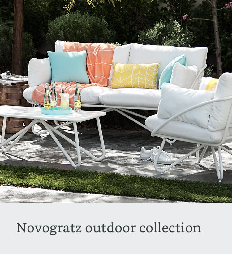 Novogratz outdoor collection