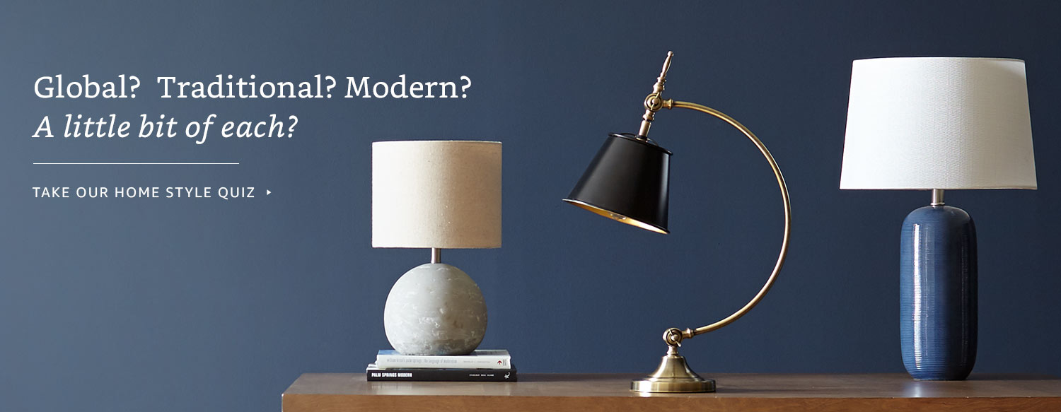 Global? Traditional? Modern? A little bit of each?   Take our style quiz