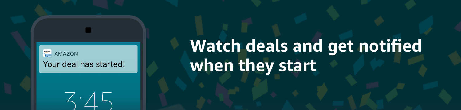Get notified when deals go live