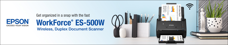 Epson Workforce ES-500W scanner