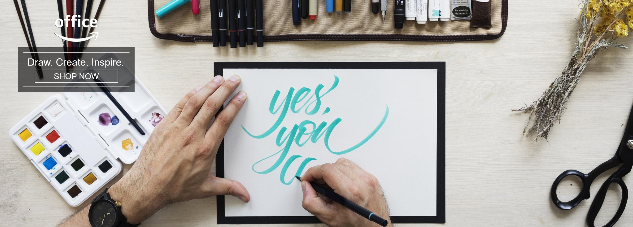 Draw. Create. Inspire.