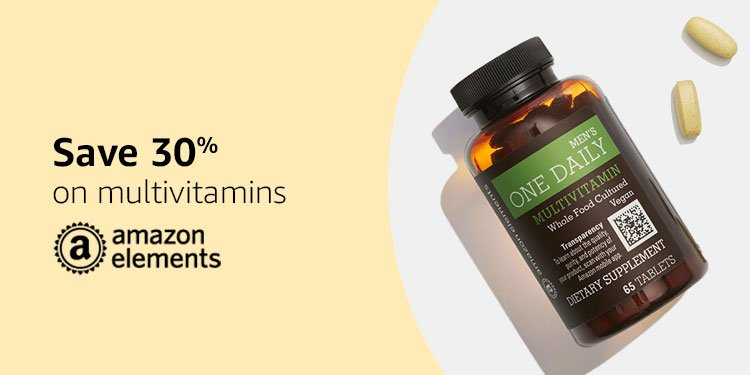 Save 30% on vitamins from our brands