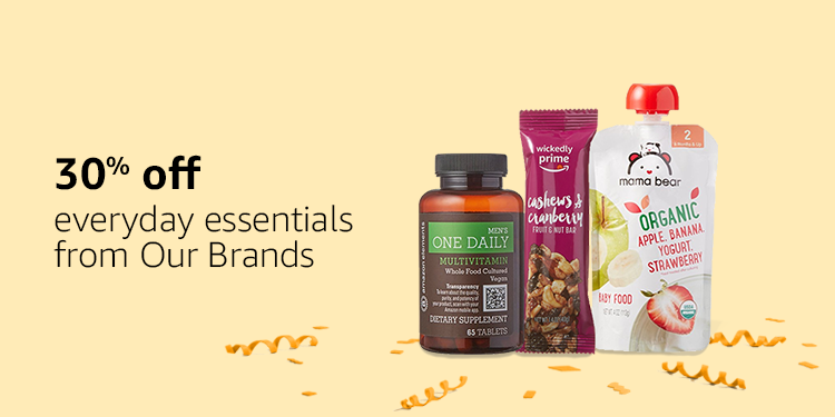 30% off everyday essentials from Our Brands