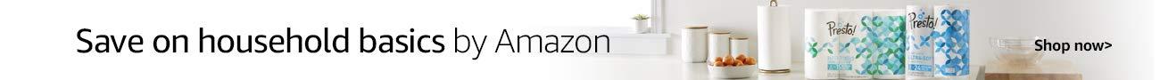 Stock up on household basics by Amazon