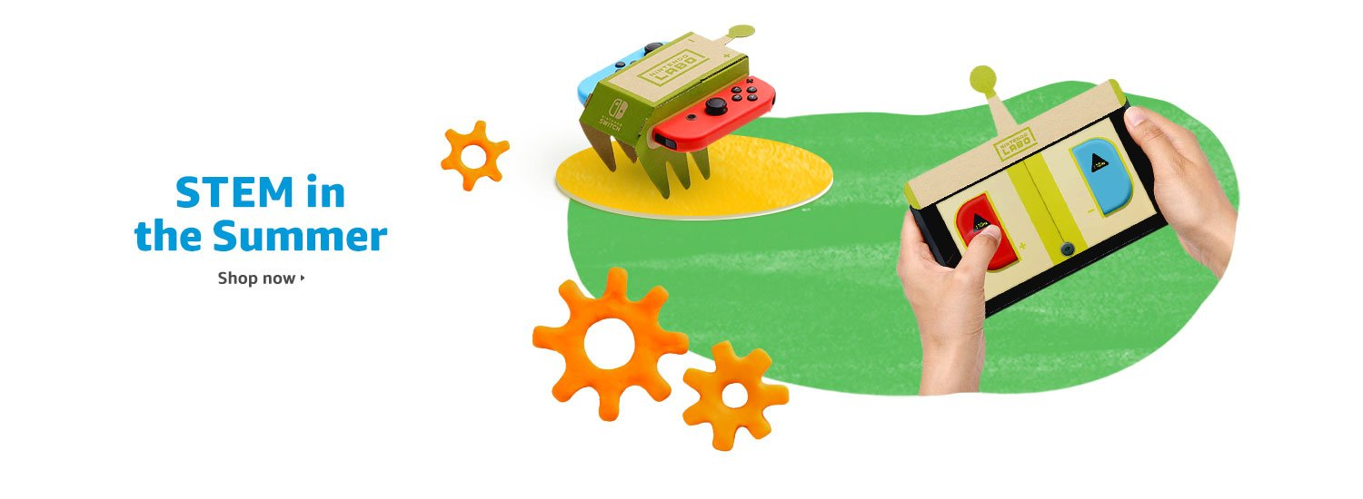 STEM in the Summer: Science, Tech, Engineering, and Math toys