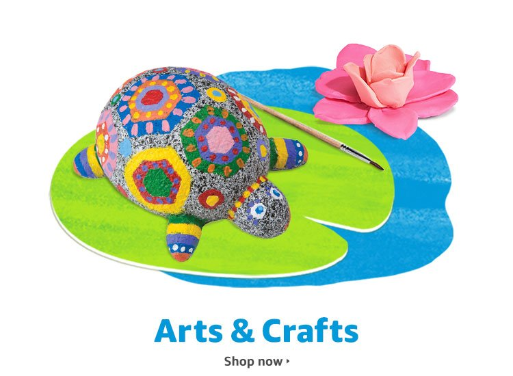 Arts & Crafts: Construction & hobby toys too