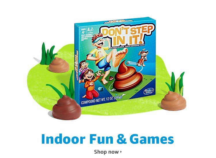 Indoor Fun & Games: Plus books, movies & video games