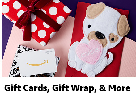Gift Cards, Gift Wrap & More