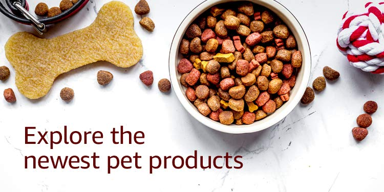 Explore the newest pet products