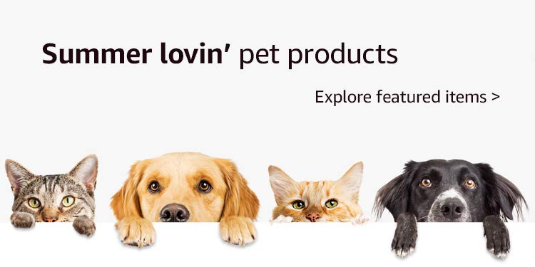 Summer lovin' pet products