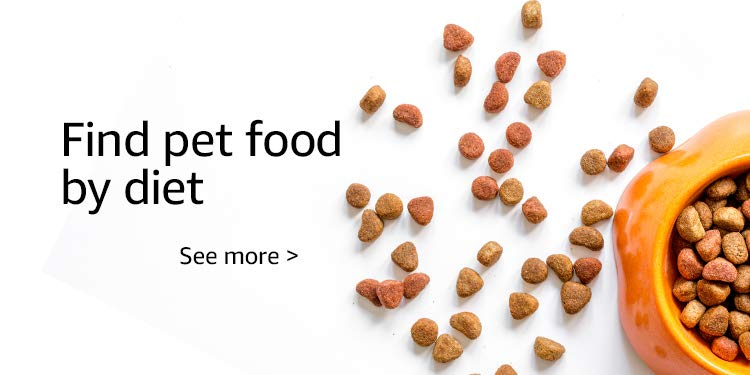 Find pet food by diet