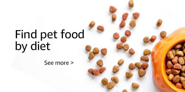 Find pet food by diet