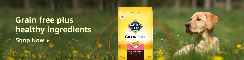 Grain free plus healthy ingredients