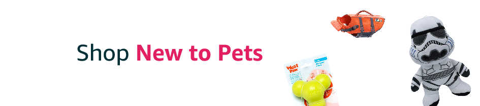 Shop new to Pets