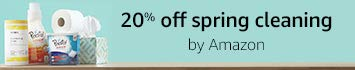 20% off spring cleaning