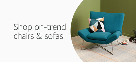 On-trend chairs and sofas