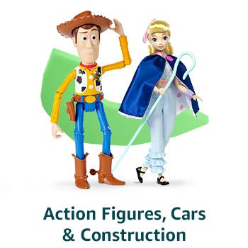 Action Figures, Cars & Construction