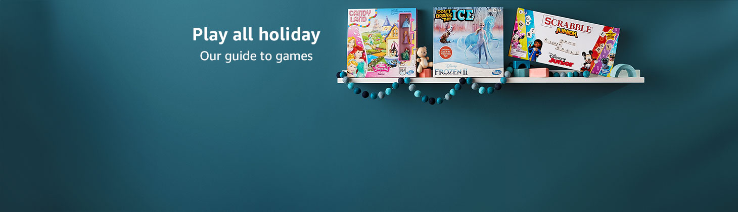 Play all holiday; Our guide to games