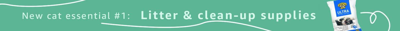 Litter & cleanup supplies