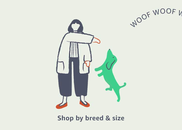 Shop by breed & size