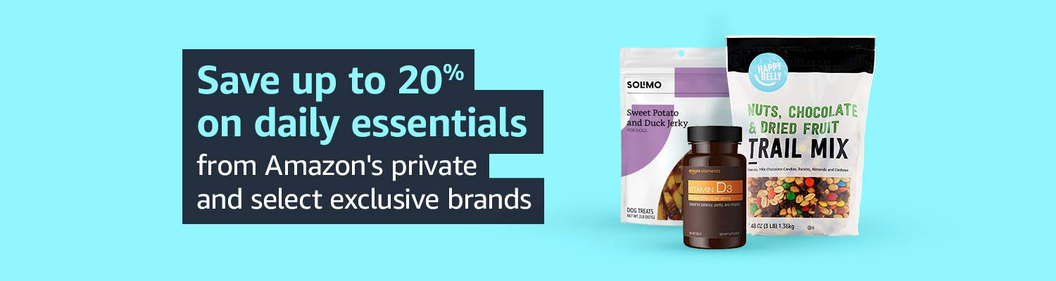 Save up to 20% on daily essentials