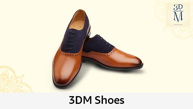 3DM Men's Leather Shoes