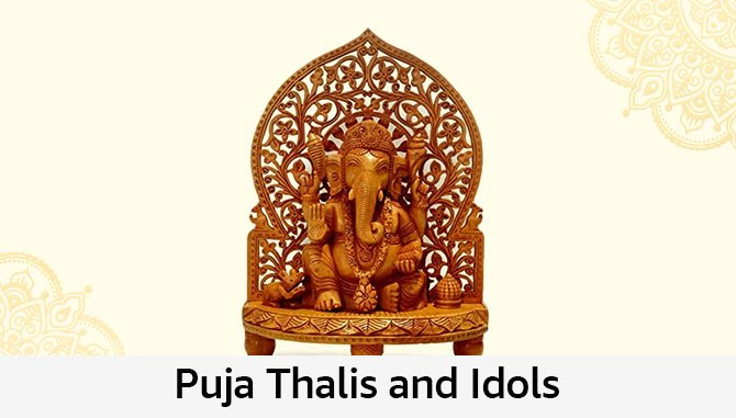 Puja Thalis and Idols