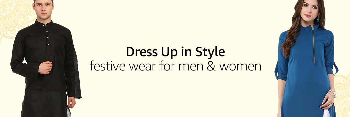 Festive wear for Men and Women