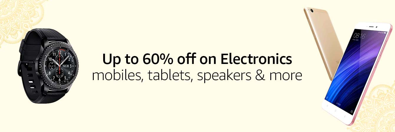 Save up to 60% on electronics
