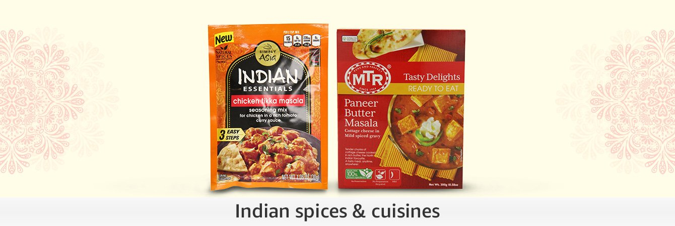 Indian spices & cuisines
