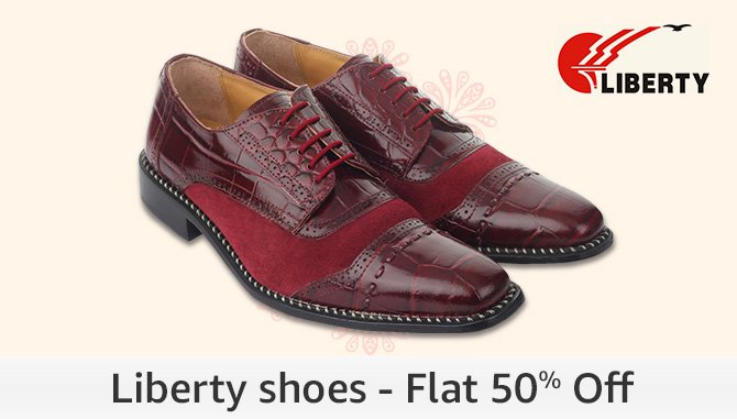 Liberty Shoes - Flat 50% Off