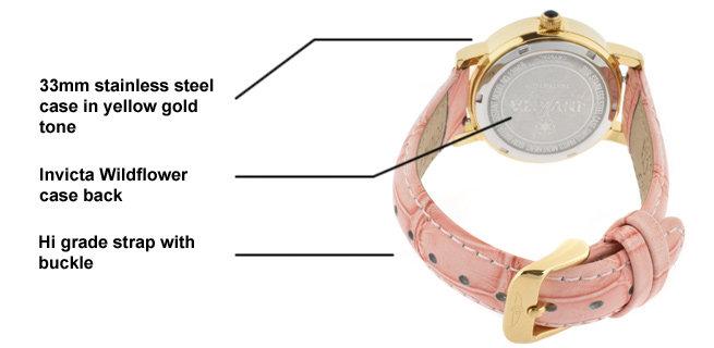 Invicta Watch diagram 2