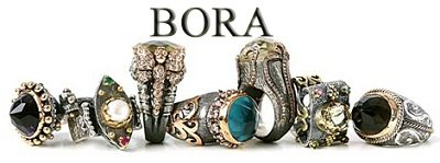 Amazoncom BORA Pearl Blossom Ring Size 7 Bora Jewelry Jewelry