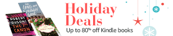 Kindle holiday deals, up to 80% off