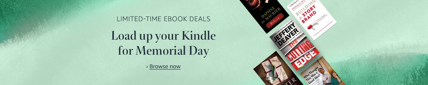Limited-time deal | Load up your Kindle for Memorial Day
