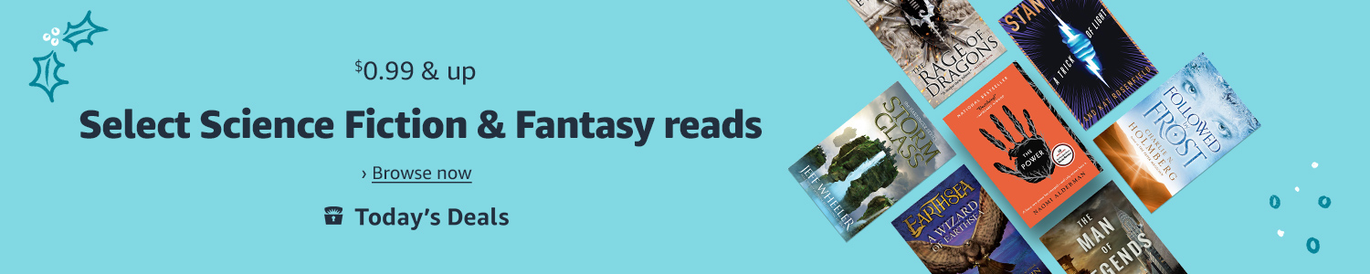 Today only: $0.99 & up select Science Fiction and Fantasy reads