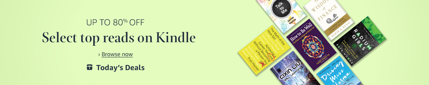 Today only: Up to 80% off, select top reads on Kindle