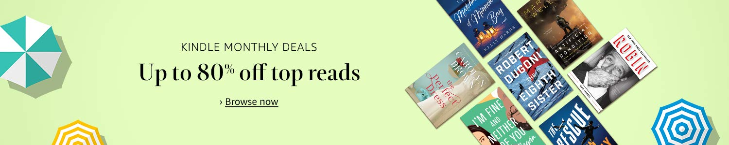 Up to 80% off top reads