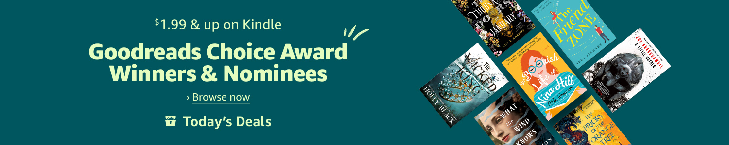 Today only: Goodreads Choice Award Winners & Nominees for $1.99 & up on Kindle