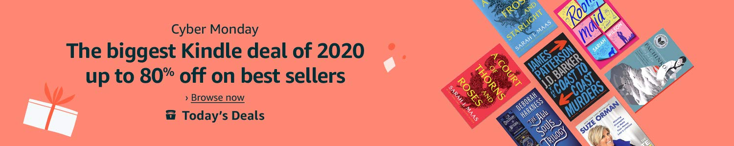 Cyber Monday: The biggest Kindle deal of 2020, up to 80% off on best sellers