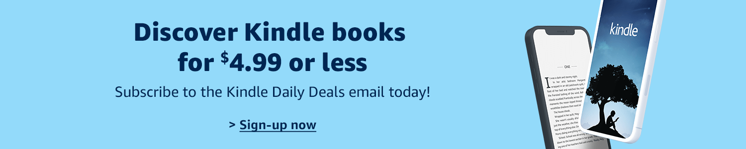 kindle books for $4.99 or less
