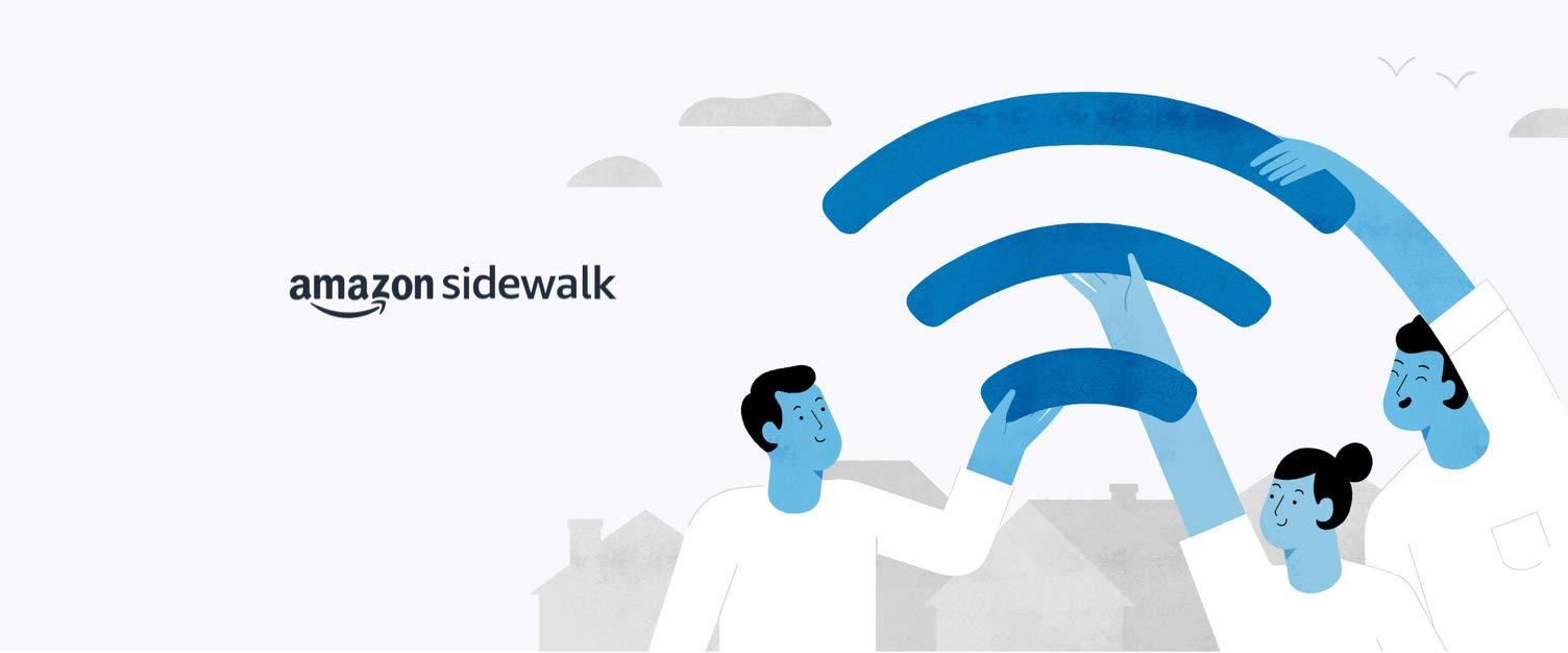 Amazon Sidewalk: Connected Convenience.