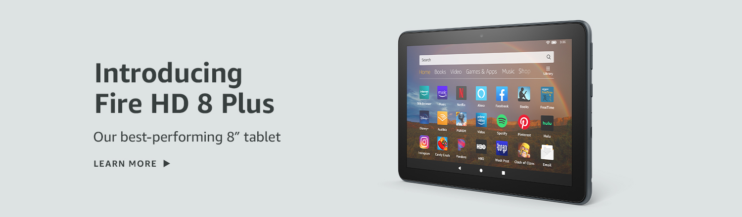 All-new Fire HD 8 Plus