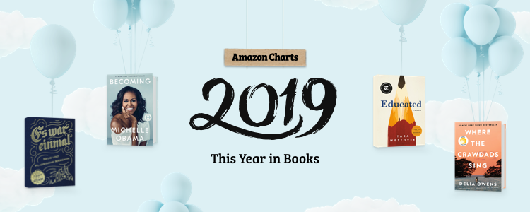 Amazon Charts This year in books 2019