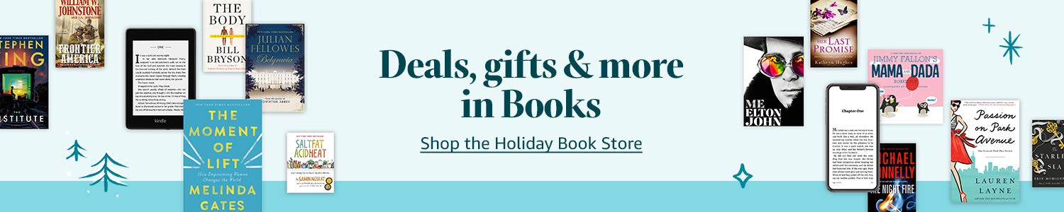 Deals, gifts & more in Books