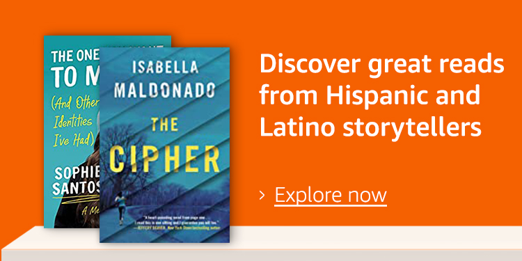 Discover great reads from Hispanic storytellers