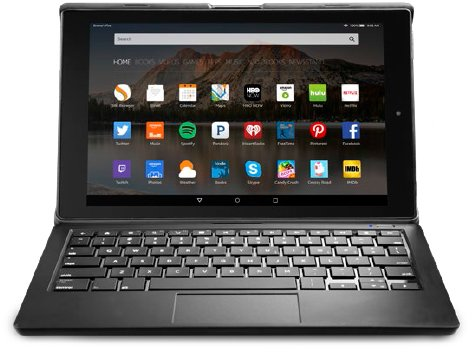 Easily set up your Amazon Fire HD 10 Keyboard Case